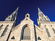 Church Photos Prints - Villanova St. Thomas Print by Aurora Imaging Company