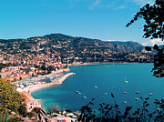 Sunlight Metal Prints - Villefranche Sur Mer Metal Print by FCremona
