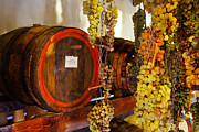 Grapes Photo Originals - Vin Santo-Italy by John Galbo