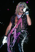 Rich Fuscia Prints - Vince Neil  Print by Rich Fuscia