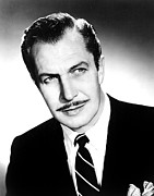 Suave Posters - Vincent Price, 1950s Poster by Everett