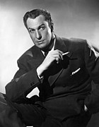 Pinky Ring Prints - Vincent Price, Ca. 1940s Print by Everett