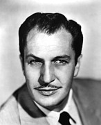 1950s Portraits Prints - Vincent Price, Ca 1950s Print by Everett