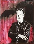 Movie Art Paintings - Vincent Price no. 3 by Christopher Chouinard