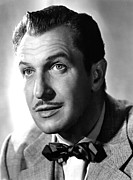 Bowtie Metal Prints - Vincent Price, Warner Brothers, 1953 Metal Print by Everett