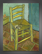 Fine Art Canvas Prints - Vincent Van Gogh - Chair...