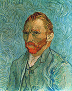 Self-portrait Prints - Vincent Van Gogh (1853-1890) Print by Granger