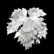 Hand Made Jewelry - Vine Leaf by Atelje Borej
