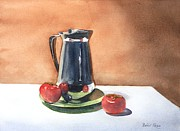 Pitchers Painting Prints - Vine ripened Print by Bobbi Price