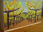 Autumn Sculptures - Vineyard in a Box by Isabel Brady