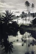 Oahu - Hawaii - Vintage - Oahu canal by Hawaiian Legacy Archive - Printscapes