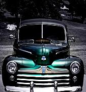 Vintage Cars Digital Art - Vintage 1948 Ford by Steven  Digman