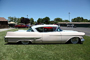 Caddy Framed Prints - Vintage 1957 Cadillac . 5D16686 Framed Print by Wingsdomain Art and Photography