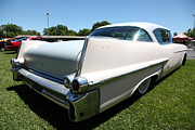 Caddy Framed Prints - Vintage 1957 Cadillac . 5D16688 Framed Print by Wingsdomain Art and Photography