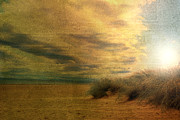 Distressed Mixed Media - Vintage beach by Christophe ROLLAND