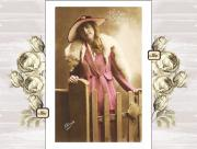 Belle Epoque Photo Prints - Vintage Beauty Print by Mary Morawska