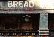 Nyc Digital Art Metal Prints - Vintage Bread Sign Metal Print by Anahi DeCanio