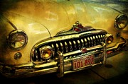 Pdx Art Museum Framed Prints - Vintage Buick Road Master Framed Print by Cathie Tyler