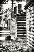 Pine Barrens Prints - Vintage Cabins Print by John Rizzuto