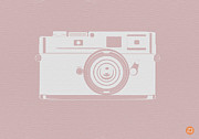 Kids Prints Prints - Vintage Camera Poster Print by Irina  March