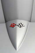 Sportscar Photos - Vintage Chevrolet Corvette Emblem 7d15178 by Wingsdomain Art and Photography