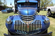 Sportscar Photos - Vintage Chevrolet Flatbed Truck . 5D16671 by Wingsdomain Art and Photography