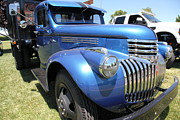 Sportscar Photos - Vintage Chevrolet Flatbed Truck . 5D16673 by Wingsdomain Art and Photography