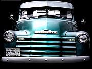 Vintage Chevy 3100 Pickup Truck Print by Steven  Digman