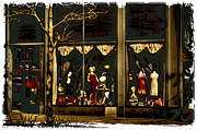 Storefront  Art - Vintage Clothing Store - Pioneer Square by David Patterson