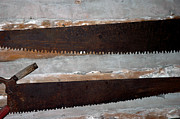 Background Photos - Vintage Crosscut Saws by LeeAnn McLaneGoetz McLaneGoetzStudioLLCcom