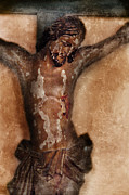 Crucified Photos - Vintage Crucifix by Jill Battaglia