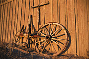 Southwestern States Photos - Vintage Details By The Blacksmith Barn by Stephen St. John