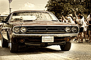 4th July Photos - Vintage Dodge Charger by Andre Babiak