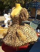 Vintage Dress At Flea Market Print by Lainie Wrightson