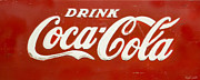 Soda Pop Posters - Vintage Drink Coca Cola Poster by Heidi Smith