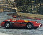 Fast Paintings - Vintage F1 Monte Carlo by James Haas