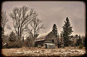 Douglas County Wisconsin Acrylic Prints - Vintage Farmstead  Acrylic Print by Whispering Feather Gallery