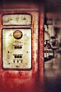 Gasoline Prints - Vintage Gas Pump Print by Jill Battaglia
