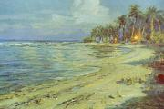 1930 Paintings - Vintage Hawaiian Art by Hawaiian Legacy Archive - Printscapes