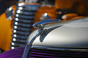 Purple Ford Photos - Vintage Inspiration by Vicki Pelham