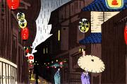 Alley Paintings - Vintage Japanese Art 26 by Hawaiian Legacy Archive - Printscapes