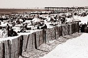 Ocean City Nj Prints - Vintage Jersey Shore Print by John Rizzuto
