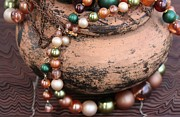 Necklace Photo Originals - Vintage Jewelry  by Sophie Vigneault
