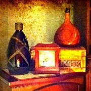 Still Life Art - Vintage Jugs by Kayla Mitchell