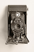 Dark Sepia Prints - Vintage Kodak Camera Print by Tony Grider