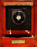 Digital Camera Framed Prints - Vintage Korona View Camera . 7D13356 Framed Print by Wingsdomain Art and Photography
