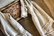 Washboard Prints - Vintage Laundry I Print by Marcie Adams Eastmans Studio Photography