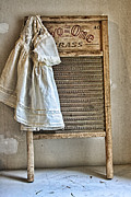 Washboard Prints - Vintage Laundry II Print by Marcie Adams Eastmans Studio Photography