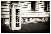 Photo Booth Photos - Vintage London Telephone by John Rizzuto