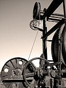 Vintage Machinery Print by Gaspar Avila